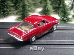 Plymouth Barracuda resin NOS Aurora tjet chassis Gehrig Studio III