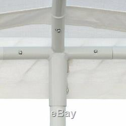 Portable Heavy Duty Canopy Garage Tent Carport Car Shelter Steel Frame 10' X 20