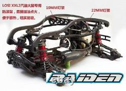 Qingleng QL Nylon Keel Roll Cage Chassis Protect Protector for losi XXL2 XXL2-E