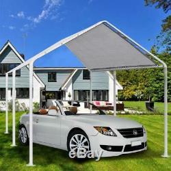Quictent 20X10 Heavy Duty Carport Car Tent Outdoor Canopy Garage Steel Frame US