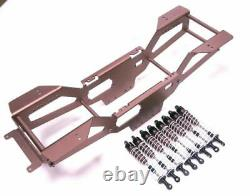 RC Car Aluminum Oil Dampers with Chassis kit for TAMIYA Clodbuster/Bullhead