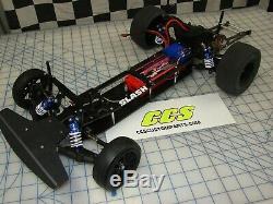 RC Drag Car Chassis Conversion Kit for Traxxas Slash 2wd by CCS wheelie bars