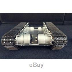 RC Tank Chassis Metal Tracked Smart WiFi Robot Car Chassis Shock Absorption xs90