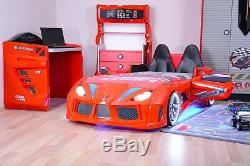 Race Car Bed Twin Kids Boys Toddler Sheets Bedding Set Bed Frame Mattress