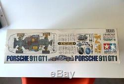 Rare Tamiya 1/10 Electric RC Car Porsche 911 GT1 TA03R-S Chassis 58193 Sealed