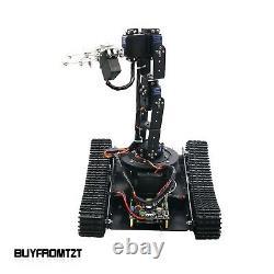 Robot Tank Car 6DOF Arm Tracking Gripping 51/Arduino/STM32 Optional Open Source
