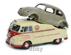 Schuco 118 Volkswagen T1a Midlands Centre with beetle chassis 450016300