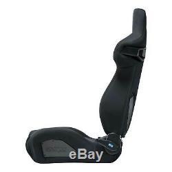 Sparco R333 Forza Sport Track / Road Car Seat Black/Black 00965NR