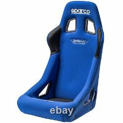 Sparco Sprint L Large FIA Approved Steel Frame Racing Car Bucket Seat Blue