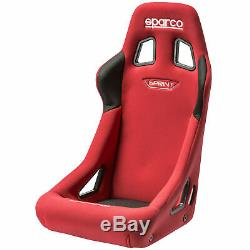 Sparco Sprint Rally/Race Car FIA Approved Bucket Seat Standard Size Red