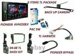 Stereo Radio Double Din Dash Kit 2004-2008-acura Tl Camera, Sw, Har