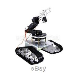 T300 Tank Car 37 Motor Plastic Metal Chassis +6 DOF Mechnical Arm Gimbal sz#
