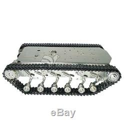 T600 Metal Truck Car Stainless Tank Intelligent Robot Chassis Plastic Pedrail