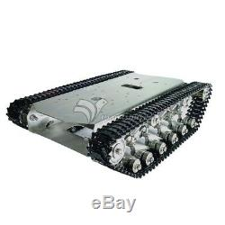 T600 Stainless Steel Tank Truck Robot Chassis Metal Pedrail Intelligent Car