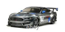 TAM58664 1/10 RC Ford Mustang GT4 Race Car Kit, with TT-02 Chassis