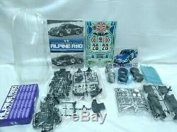 TAMIYA 1/10 RC Alpine A110 Racing Car Model Kit M-02 Chassis from Japan