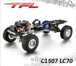 TFL 1/10 Crawler CNC RC Cars Metal Chassis KIT Model Hardbody Killerbody LC70