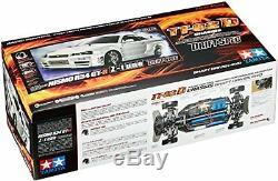 Tamiya 1/10 RC Car No. 605 NISMO R34 GT-R Z-Tune TT-02D Chassis Drift Spec F/S