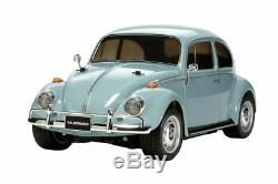 Tamiya 1/10 RC Car Series No. 572 Volkswagen Beetle M-06 chassis 58572 4445529469