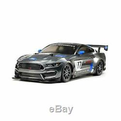 Tamiya 1/10 electric RC Car Series No. 664 Ford Mustang GT4 (TT-02 chassis) 58664