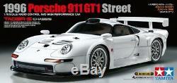 Tamiya 47443 1/10 EP RC Car Kit TA03R-S Chassis Porsche 911 GT1 Street 1996