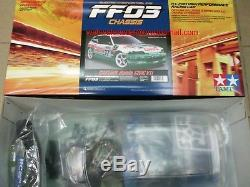 Tamiya #58467 1/10 RC FWD Car FF03 Chassis Team Castrol Honda Civic VTi EG6