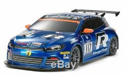 Tamiya #58505 1/10 RC FWD Car FF03 Chassis VW Volkswagen Scirocco GT24-CNG'11