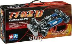 Tamiya 58584 TT-02D Drift Spec Chassis Kit 1/10th Scale RC Car OZRC JL