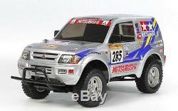 Tamiya 58602 1/10 EP RC Car CC01 Chassis Mitsubishi Pajero Rally Sport Kit withESC