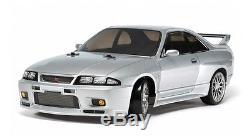 Tamiya 58604 1/10 EP RC Car TT02-D Drift Chassis Nissan Skyline GT-R R33 withESC