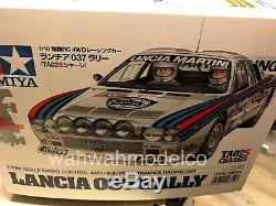 Tamiya 58654 1/10 Scale EP RC Car Kit TA02-S Chassis Lancia 037 Rally withESC