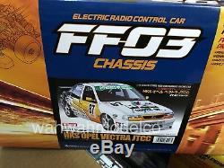 Tamiya 84228 1/10 RC FWD Car Kit FF03 Chassis HKS Opel Vectra GT'95 JTCC A. Reid