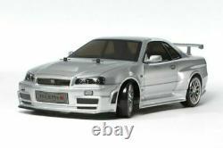 Tamiya Nissan R34 GT-R Z-Tune TT-02D 1/10 RC Car No. 605 Chassis Drift Spec 58605