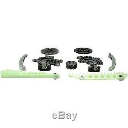 Timing Chain Kit With Sprockets Fits 2000-2011 Ford Lincoln Mercury 4.6L SOHC