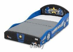 Toddler Bed Kid Frame Child Bedroom Furniture Boy Girl Police Car SAFE DESIGN