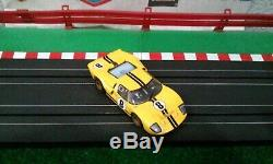 Tomy/ A/fx Yellow Gt40 #8 New Body/w New Mega G+ Chassis/w Gold Rims