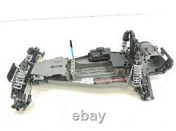 Traxxas Bandit VXL 1/10 2wd Buggy Drag Car Roller Slider Chassis Metal Gears