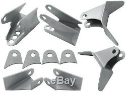 Triangulated 4 Link Kit Universal Weld on Car Truck 1.25 DOM Tube LH and RH End