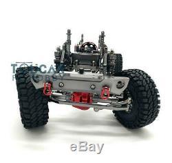 US Stock 1/10 Gray SCX10 D90 Car Metal Aluminium Alloy Frame Chasis Model