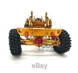 US Stock D90 SCX10 Chassis 1/10 AXIAL CNC Aluminium Alloy RC Rock Crawler Car