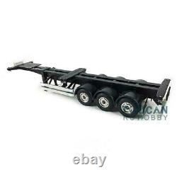 US Stock Hercules 40ft Chassis for 1/14 TAMIYA Tractor Truck Semi Trailer Car