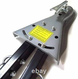 Universal 5000LBS Adjustable Bumper Mount A-Frame Tow Bar withChains RV Car Jeep