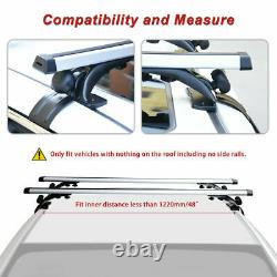 Universal Car SUV Top Roof Cross Bar Luggage Cargo Carrier Rack with 3 Kinds Clamp