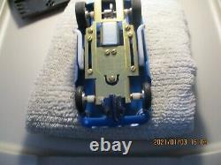 VINTAGE 1/24 STROMBECKER Cheetah GT Slot Car. BRASS CHASSIS