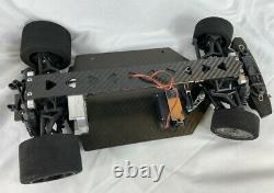 Vaterra 1/10 awd pan car Carbon Fiber chassis kit speed run drag car