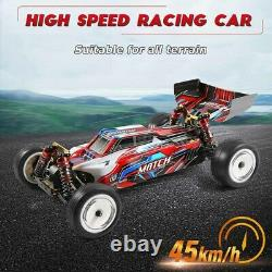 WLtoys 104001 1/10 45KM/H 2.4G 4WD Remote Control Off-Road Car Alloy Chassis US