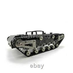 WT-200 Metal RC Tank withTrack Shock-Absorbing Tank Car without Remote Control sz