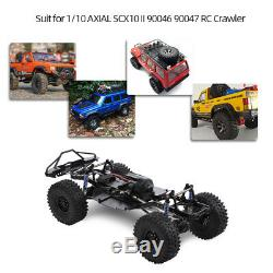 Wheelbase 313mm Crawler Chassis Frame For RC 1/10 AXIAL SCX10 Car With Tries X9P8
