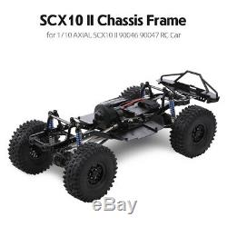 Wheelbase Assembled Frame Chassis For 1/10 RC Crawler Car SCX10 SCX10 II 90046