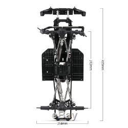 Wheelbase Chassis Frame for 1/10 AXIAL SCX10 II 90046 RC Crawler Car DIY O4Q6